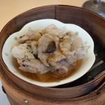 粥菜坊 - 豚げた肉の豆鼓蒸し