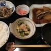 四季の味 丹 - 料理写真:イワシと大根の煮付け定食