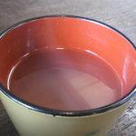 蕎麦処 三喜 - 料理写真:そば湯