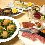 寿司ひらおか - お料理