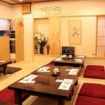 寿司ひらおか - 二階の座敷