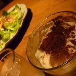 イタリア料理 アルセーバ - ノンアルコールカクテル チョコレートカクテル