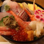 助寿し - 料理写真:能登丼