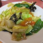 中華珍満 - 中華丼(アップ)