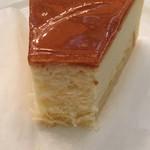 コーヒーの大学院 ルミエール・ド・パリ - ベイクドチーズケーキのアップ