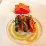 80358699 - ★9神奈川県産松輪の鯖のマリネ 香ばしい肉厚椎茸のタルトレット