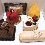 patisserie Ravi - 料理写真:今回買ったケーキ達