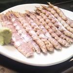 かわなみ鮨 - シャコ刺身