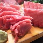かわなみ鮨 - インドマグロ刺身