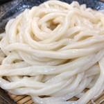 80363682 - ざるうどんは麺はよいが、つけ出汁がいまいち