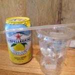 キトゥンアンドドーナツ - サンペレグリノの微炭酸レモン