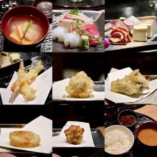 天ぷらと日本酒 明日源 - 二周年祭特別コース