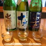 銀座酒蔵検校 - 花セット 3種(各60ml)