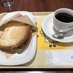 ドトールコーヒーショップ - モーニングセットB