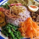 ソッジョールノ - お野菜の副菜は、野菜の風味を生かした味付けです。