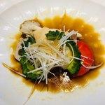 80369249 - 白身魚と野菜の蒸し物