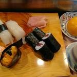 美乃寿し - 料理写真:上寿司定食(1998円)