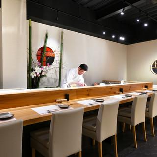 和食店のような、落ち着いた雰囲気♩