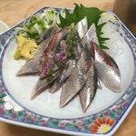 大衆割烹 三州屋 - 秋刀魚の刺身