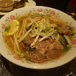 カムオーン - 牛肉三種盛りのフォー