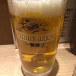 晩杯屋 - 生ビール