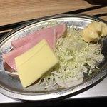 晩杯屋 - ハムチーズ