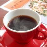 栄町スパゲッティMammy's - ホットコーヒー;徳光珈琲のMammy's Blend. ややビターでボディも有り食後にGood!(^^)v @2018/02/03