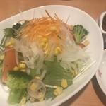 とれたて北海道 - フレッシュ野菜のサラダ