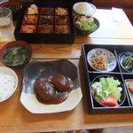 ふきのとう - 日替わりハンバーグ定食