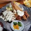レストハウス舞子 - 料理写真:みそマヨとんかつ・エビフライ・鶏唐南蛮がメイン