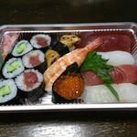 宏城寿し - 料理写真:上にぎり