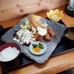 レストハウス舞子 - 「三角関係定食 (1300円)」