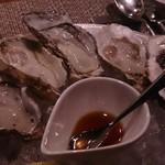 スパイラル - 生牡蠣盛り合わせ
