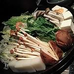 牛禅 - 野菜八種盛合わせ