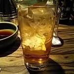 牛禅 - あんず酒ソーダ割