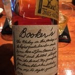 サントリー・オールドバー - クラフトバーボンのブッカーズ、これが美味しいのよねー(^ν^)