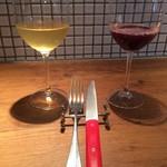 80385292 - ワインと葡萄ジュース