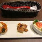 鎌倉パスタ - 前菜3種