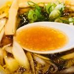 月島ロック - 生姜のきいた豚100%スープ!