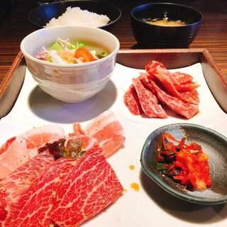 秋田牛玄亭 - 焼肉定食