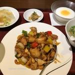 中華旬彩料理 東方紅 - 鶏ときのこのバター醤油セット