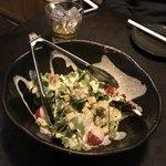 ランドーズ - ランチコース料理 ①サラダ(二人分)