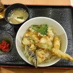 酒蔵 季 - Aランチ 天丼