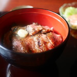 赤坂 津つ井 - ビフテキ丼