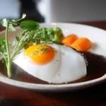 赤坂 津つ井 - A5黒毛和牛ハンバーグステーキ