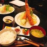 和風レストラン 鼎 - 大きな大きなエビフライ定食