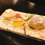 和風レストラン 鼎 - 地はまぐりの塩焼き