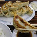 ぎょうざの満洲 - 料理写真:ダブル餃子定食500円