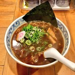 鯛だしそば・つけ麺 はなやま - 料理写真:鯛だしブラック