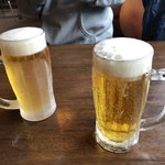かにふ - 2018年01月26日  オリオン生ビール 650円
